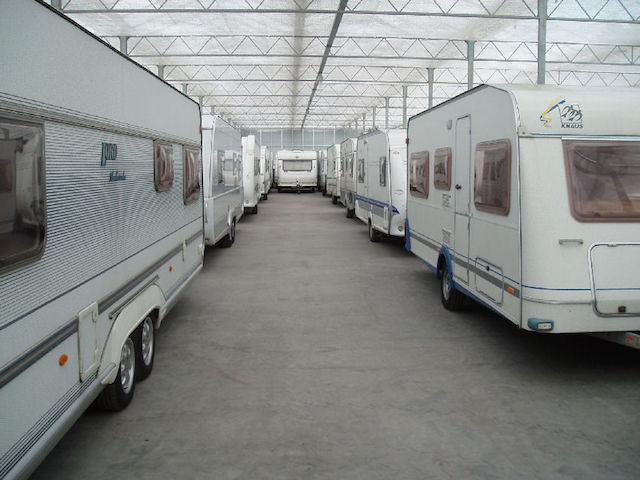 Stalling caravans
